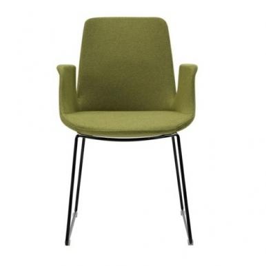 כיסא אורח ירוק
