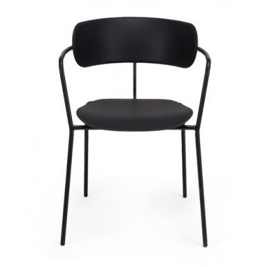 כיסא קפיטריה שחור