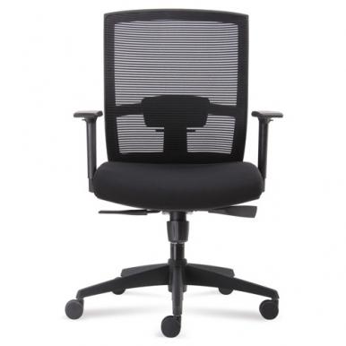 כיסא עבודה שחור אטיאס